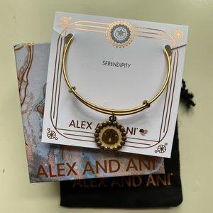 "Alex and Ani ""Sand Dollar"" Bracelet"